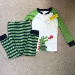NWT Gymboree 2 Piece Pajama Set